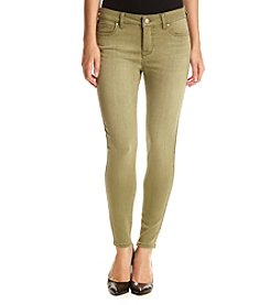 Celebrity Pink Mid Rise Washed Out Skinny Ankle Pants