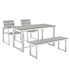 W. Designs All-Weather 4-pc Dining Set