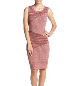 Be Bop Ribbed Heathered Dress