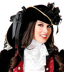 Pirate Adult Velvet Hat