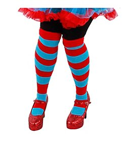 Dr. Seuss™ The Cat In The Hat® Thing 1 and Thing 2 Striped Adult Knee Highs