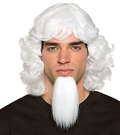 Uncle Sam Adult Wig with Goatee