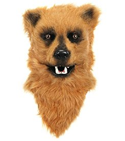Brown Bear Mouth Mover Adult Mask