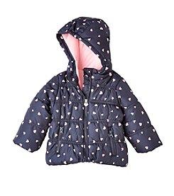 OshKosh B'Gosh® Baby Girls' Heart Puffer Jacket