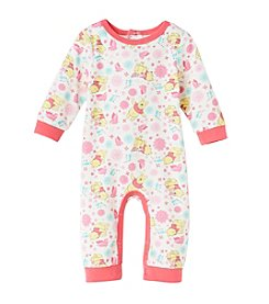 Nannette® Baby Girls' Winnie The Pooh Coverall