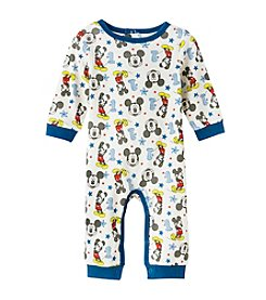 Nannette® Baby Boys Mickey Mouse Coverall