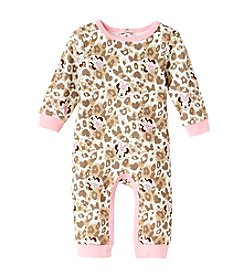 Nannette® Baby Girls' Minnie Mouse® Leopard Coverall
