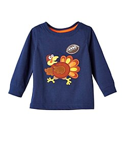Mix & Match Baby Boys Long Sleeve Turkey Tee