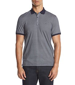 Michael Kors® Men's Grid Dot Short Sleeve Polo