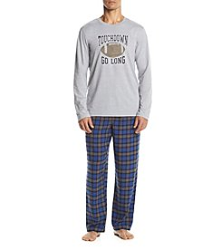 John Bartlett Statements Men's Knit Flannel Icon Pajama Set