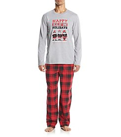 John Bartlett Statements Men's Knit Icon Pajama Set