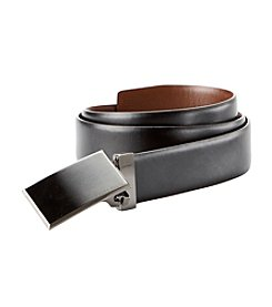 Perry Ellis Portfolio® Men's Reversible Pattern Plaque Belt