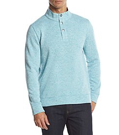 Paradise Collection® Men's Button Mock Fleece