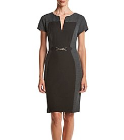 Connected® Color Block Sheath Dress