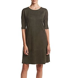 Madison Leigh® Suede Shift Dress