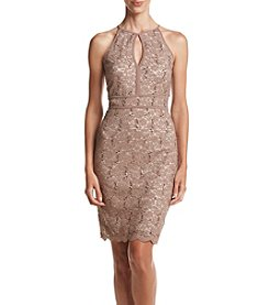 NW Collections Lace Banded Dress