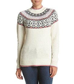 Ruff Hewn Petites' Nordic Yoke Sweater