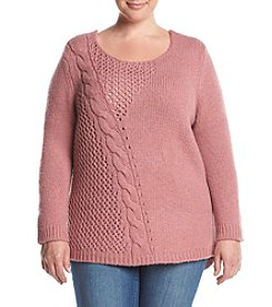 Ruff Hewn Plus Size Pullover Sweater