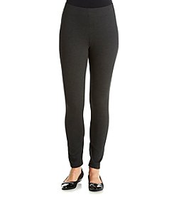 Laura Ashley® Petites' Pull On Ponte Leggings