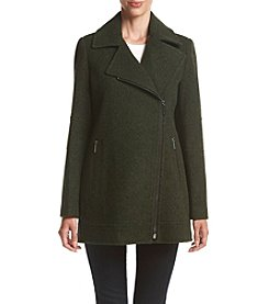 MICHAEL Michael Kors® Tweed Asymmetrical Zip Pantcoat