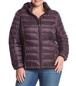 32 Degrees Plus Size Quilted Packable Down Coat