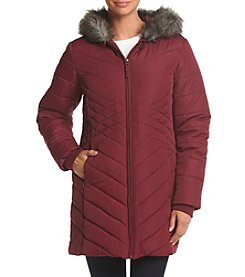 Below Zero Diamond Quilted Down Jacket