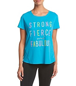 Exertek® Strong Fierce And Fabulous Tee