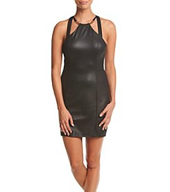 GUESS Halter Sheath Dress