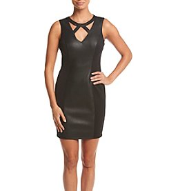 GUESS Cutout Sheath Dress