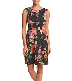 Adrianna Papell® Printed Scuba Dress