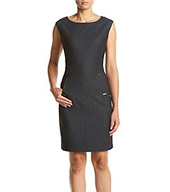 Calvin Klein Front Pocket Sheath Dress