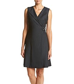 Calvin Klein Denim Wrap Dress
