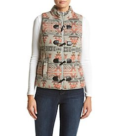 Ruff Hewn Boho Puffer Vest