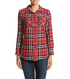 Ruff Hewn Twin Plaid Top