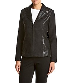 Studio Works® Embossed Lapel Jacket