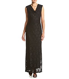 Connected® Sequin Lace Gown