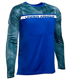 Under Armour® Boys' 8-20 Long Sleeve Select Warm Up Tee