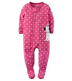 Carter's® Girls' One Piece Dalmatian Sleeper
