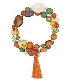 The Sak® Beaded Coil Bracelet