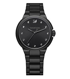 Swarovski® Women's City Black Tone Bracelet Watch