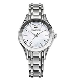 Swarovski® Women's Silvertone Alegria Mother Of Pearl Watch