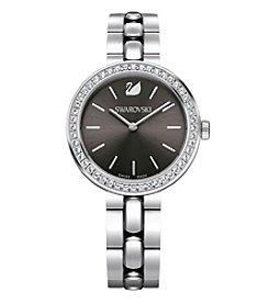 Swarovski® Women's Silvertone Daytime Metal Bracelet Watch