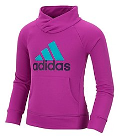 adidas® Girls' 2T-6X Long Sleeve Performance Pullover