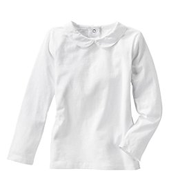 OshKosh B'Gosh® Girls' 2T-4T Long Sleeve Peter Pan Collar Tee