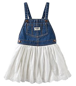 OshKosh B'Gosh® Girls' 2T-4T Eyelet Skirt Jumper