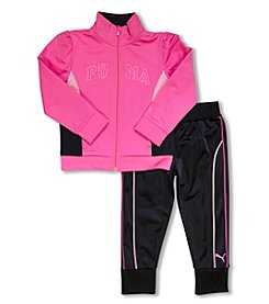 PUMA® Girls' 2T-6X 2-Piece Track Set