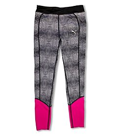 PUMA® Girls' 4-6X Printed Leggings