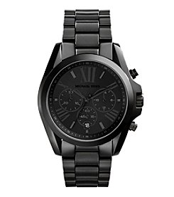Michael Kors® Men's Bradshaw Black Tone Chronograph Watch