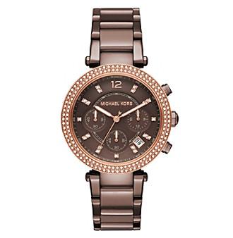 Michael Kors® Women's Parker Sable Tone Chronograph Watc