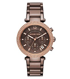 Michael Kors® Women's Parker Sable Tone Chronograph Watch